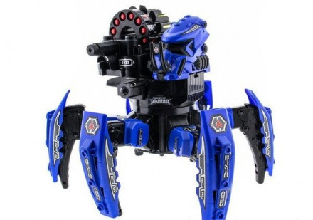 Большой боевой робот - паук детская игрушка с лазерным прицелом и стрелами. Мариуполь. фото 1