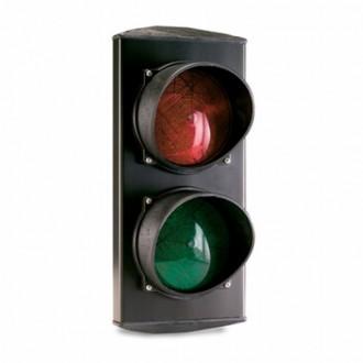 Светофор Т8 SEMLED двухсекционный 100 мм светодиодный, ERREKA. Днепр. фото 1