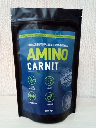 Купить AminoCarnit-Активный комплекс для роста мышц и жиросжигания оптом от 50шт. Киев. фото 1