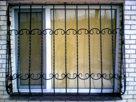 Откатные кованые ворота цена от 10 000.00 грн Цена калитки от 2 500.00 грн . Киев, Киевская область. фото 4