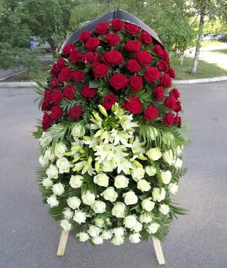 Венок похоронный. Киев. фото 1