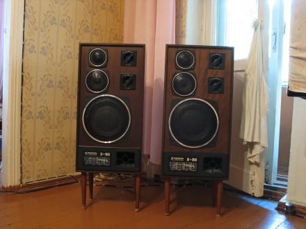 Колонки Радиотехника с-90 (Radiotehnika S90 ). Чернігів. фото 1