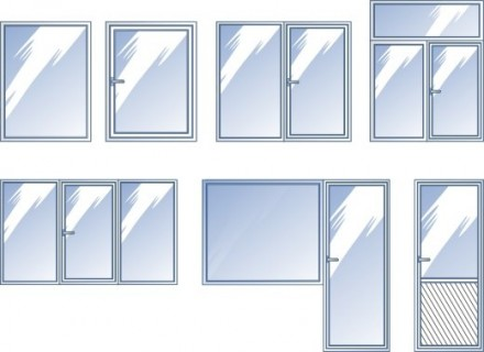 Металопластиковые окна , двери , балконы. Бородянка. фото 1