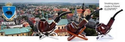 Польские грушевые курительные трубки B & B, Elenpipe с фильтром 9 мм. Киев. фото 1
