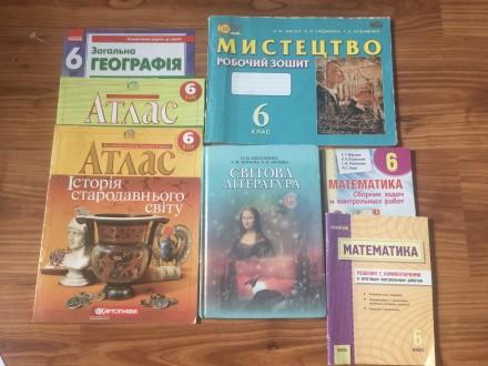 Учебники 6 класс. Одесса. фото 1