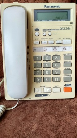 Стационарный телефон Panasonic KX-TMS 32RUW. Кривой Рог. фото 1