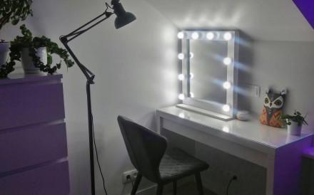 Гримерное зеркало Слеза. Днепр. фото 1