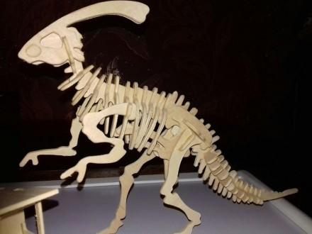 3 Д пазлы динозавр с домиком.. Лисичанск. фото 1