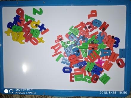Азбука, буквы, знаки на магните.. Лисичанск. фото 1