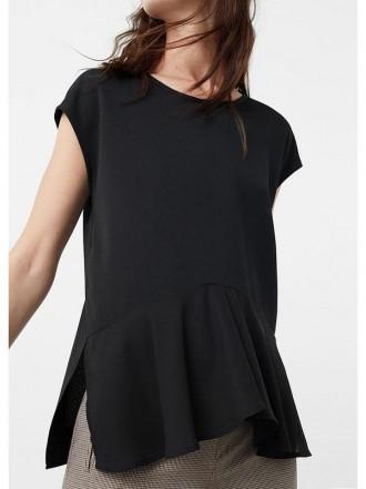 Черная футболка от Mango. Николаев. фото 1