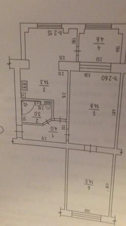 Продам 2-комнатную квартиру в центре города.. Канев. фото 1