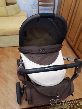 Продам детскую коляску с универсальной ABC design