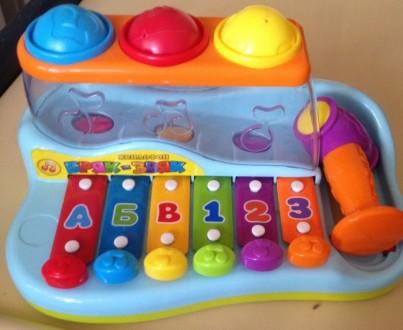 Ксилофон для малышей. Луганск. фото 1