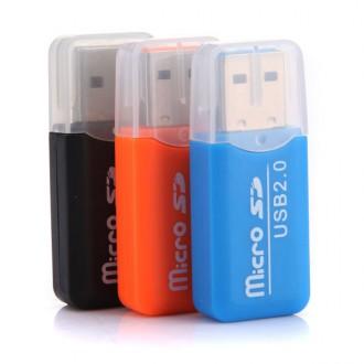 USB 2.0 Card Reader MicroSD (Переходник/Кардридер/Адаптер/Картридер). Чернигов. фото 1