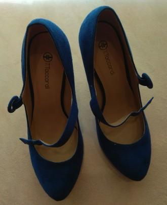 Туфли замшевые женские. Лисичанск. фото 1