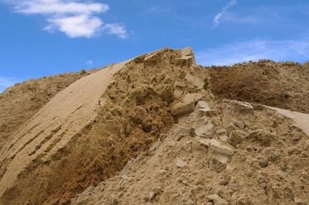 Песок речной и овражный с доставкой Борисполь и район. Борисполь. фото 1