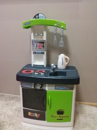 Кухня детская Smoby ,микроволновка,стиральная машинка,кофемашина. Харьков. фото 1