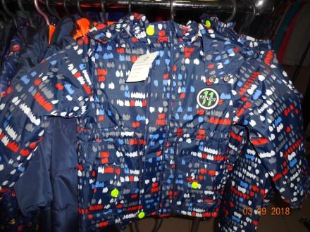 демисезонная куртка для мальчика. Бахмут (Артемовск). фото 1