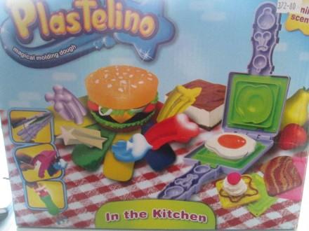 Продам набор для лепки Гамбургерница