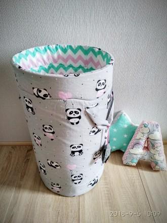 Текстильні корзини для іграшок. Белая Церковь. фото 1