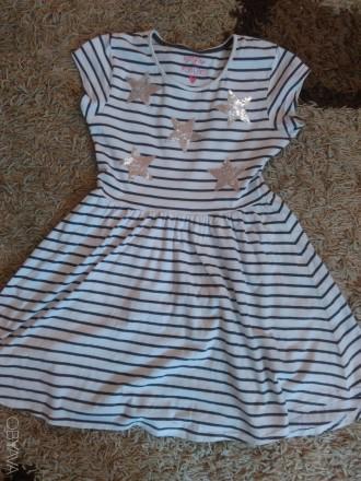 платье в идеальном состоянии на возраст 13 лет Длина 77 см по плечам 30 по поя. Чернигов, Черниговская область. фото 1
