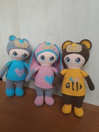 Пупсы куколки вязаные игрушки. Котовск. фото 1