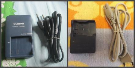 Зарядное Canon CB-2LvE и CB-2LuE. Чернигов. фото 1