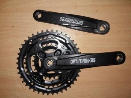 Продам шатуны и ротор Optimabikes. Чернигов. фото 1