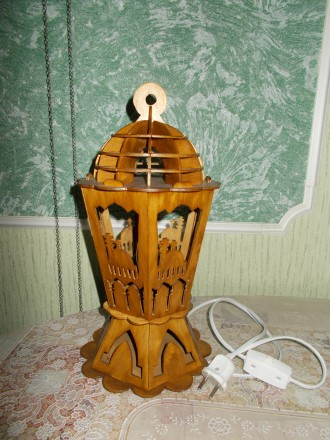 Лампа настольная (ночник).. Конотоп. фото 1