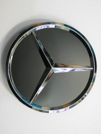 Колпак колесный литого диска  Mercedes 75 мм. Киев. фото 1