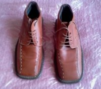 Ботинки мужские кожаные утепленные, 43 размер.Словакия.. Ужгород. фото 1