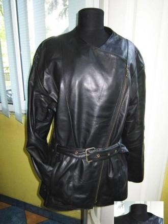 Стильная женская куртка - косуха Cruse. Кожа. Италия. Лот 220. Ужгород. фото 1