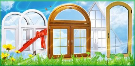 Окна, балконы, стеклопакеты, лоджии, двери, роллеты защитные и тканевые, жалюзи. Черновцы. фото 1