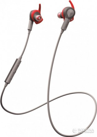 Стерео Bluetooth-гарнитура Jabra Sport Coach Red (наушники). Днепр. фото 1