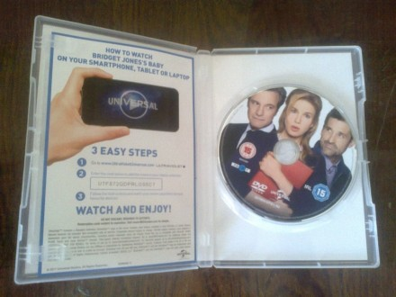 """Продам DVD с фильмом """"Ребенок Бриджит Джонс"""" на языке оригинала (английский). На. Запорожье, Запорожская область. фото 6"""
