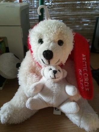Мягкая игрушка медведь с медвежонком. Торг уместен.. Киев. фото 1