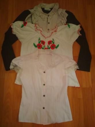 Блузки школьные. Горишные Плавни. фото 1