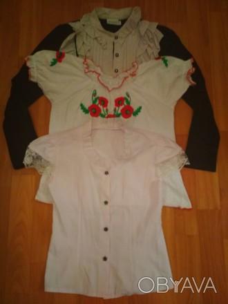 3d3ad796d03 ᐈ Блузки школьные ᐈ Горишные Плавни 100 ГРН - OBYAVA.ua™ №2084896