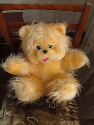 Мягкая игрушка медведь, высота 36 см. Цена 150 руб. Луганск. фото 1