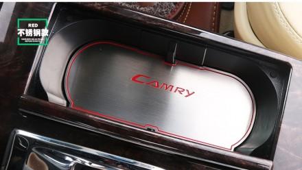Toyota Camry Тойота Камри накладки для ниш и карманов нержавеющая сталь. Киев. фото 1