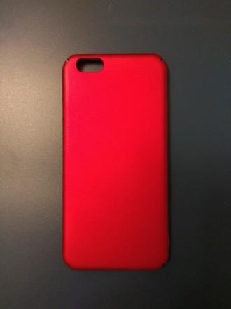 червоний красный red чехол панель бампер на для iphone 6 6s айфон. Ивано-Франковск. фото 1