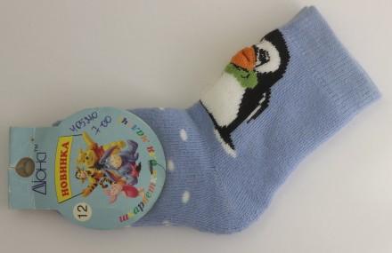 Носки детские Дюна, 5В 405 размер 12, голубой. Дніпро. фото 1