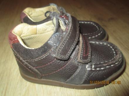 Ботинки кожаные Clarks.. Никополь. фото 1