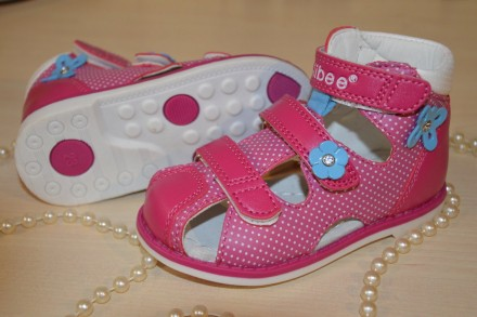 Детские ортопедические босоножки бренда Clibee для девочек. Лубны. фото 1