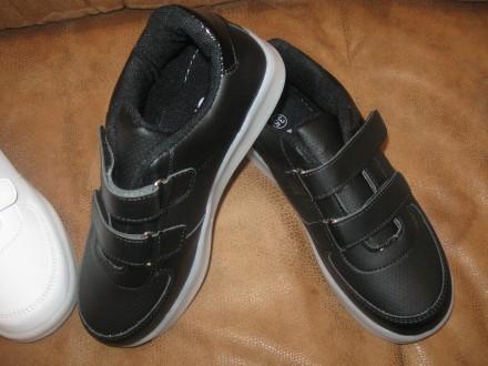 Кроссовки светящиеся чёрные р.31 В Наличии. Лубны. фото 1