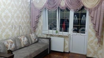 Сдам  двухкомнатную квартиру с элитным кап. ремонтом! Квартира на 3-м этаже 5-ти. Сырец, Киев, Киевская область. фото 2