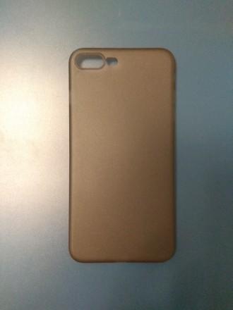 сірий серый grey чехол панель на для бампер iphone 7 plus 8 plus айфон. Ивано-Франковск. фото 1