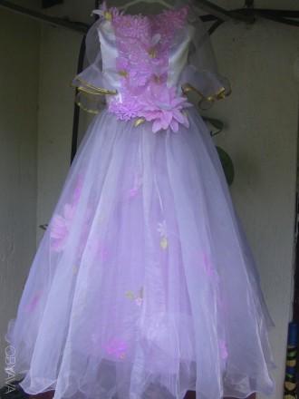 праздничное платье для девочки. Днепр. фото 1