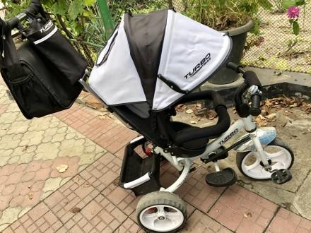 Детский трехколёсный велосипед. Новая Каховка. фото 1