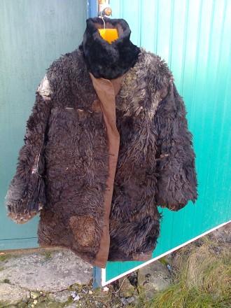 Кожух с плащевой ткани, новый, очень теплый, на нижнем лацкане небольшое пятнышк. Бахмут (Артемовск), Донецкая область. фото 3